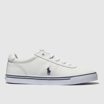 Polo Ralph Lauren White Hanford Mens Trainers