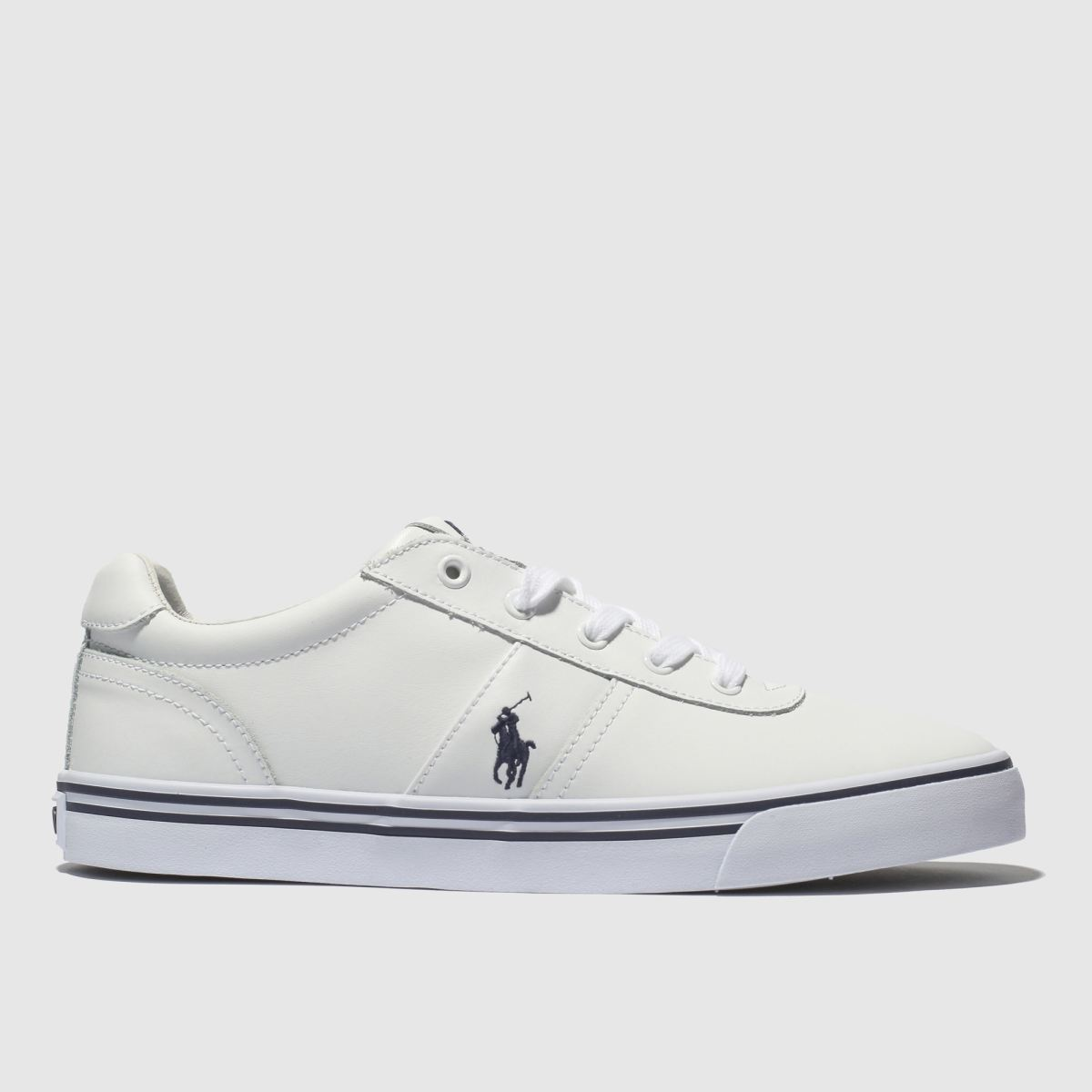 Polo Ralph Lauren White Hanford Trainers