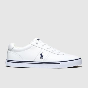 Polo Ralph Lauren White Hanford c2namevalue::Mens Shoes