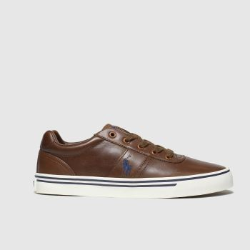 POLO RALPH LAUREN Brown Hanford Mens Shoes