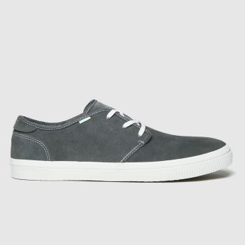 TOMS Dark Grey Carlo Mens Shoes
