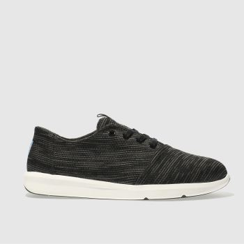Toms Black & Grey DEL REY Trainers