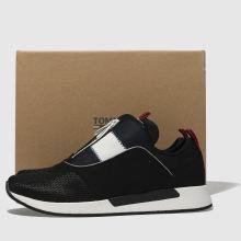 bc8f6dffe78261 mens black   white tommy hilfiger tj icon sport flexi sneaker ...