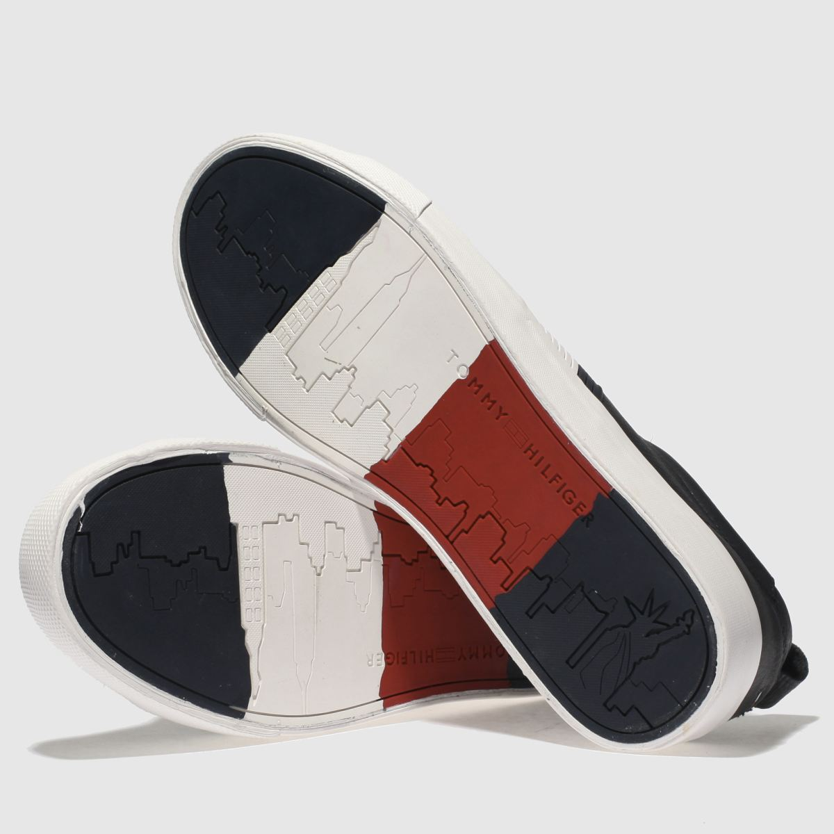 Herren Detail Marineblau-weiß tommy hilfiger Flag Detail Herren Sneaker Sneaker | schuh Gute Qualität beliebte Schuhe 8d44c3