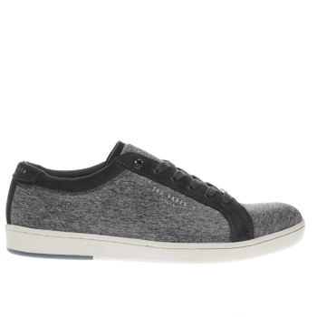 TED BAKER GREY MINEM 2 TRAINERS