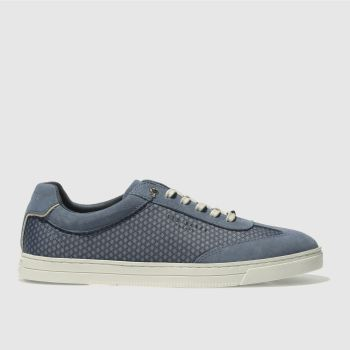 TED BAKER NAVY PHRANCO TRAINERS