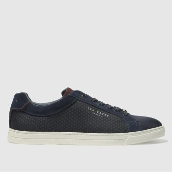 Ted Baker Navy Sarpio Mens Trainers