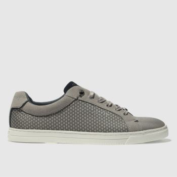 Ted Baker Grey SARPIO Trainers