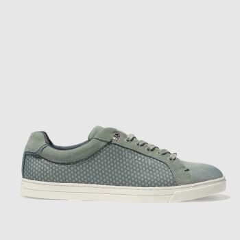 Ted Baker Green Sarpio Mens Trainers