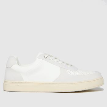 schuh White Will Court Trainers