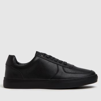 schuh Black Will Court Trainer Mens Trainers