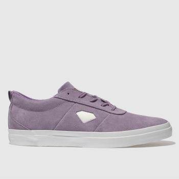 Diamond Supply Co Purple Icon Mens Trainers