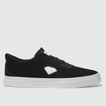 Diamond Supply Co Black & White ICON Trainers