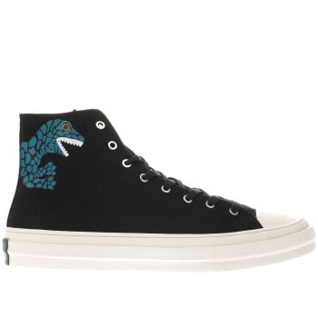 Paul Smith Shoe Ps Black Kirk Mens Trainers