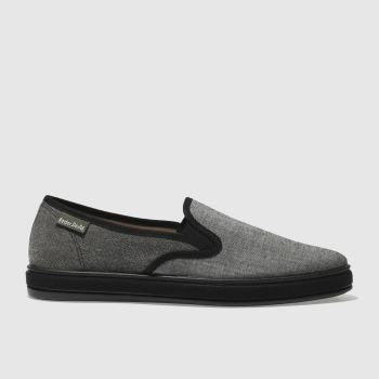 Red Or Dead Black MR CRUZ SLIP Shoes