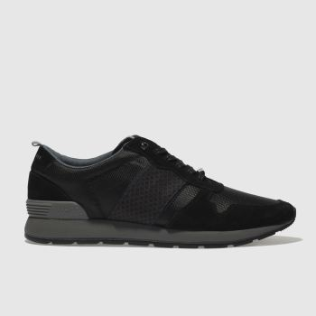 Ted Baker Black Hebey Mens Trainers