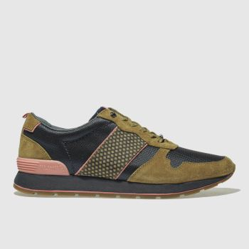 Ted Baker Tan Jaymz Mens Trainers