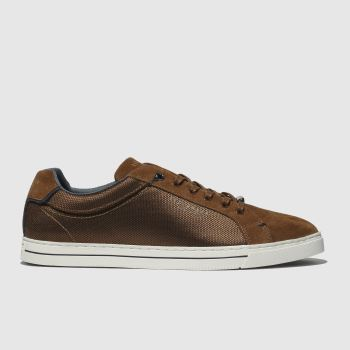 Ted Baker Tan Eeril Mens Trainers