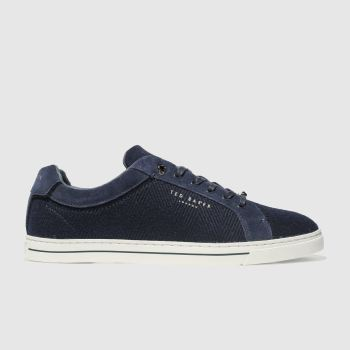 Ted Baker Navy Werill Mens Trainers
