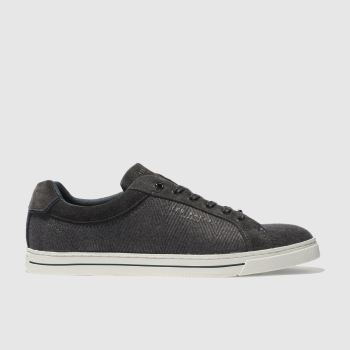 Ted Baker Dark Grey Werill Mens Trainers