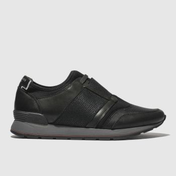 Ted Baker Black Jettro Mens Trainers