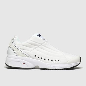 Tommy Hilfiger White Heritage Sneaker Mens Trainers