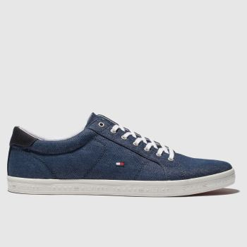 Tommy Hilfiger Navy Tj Ess Long Lace Sneaker Mens Trainers