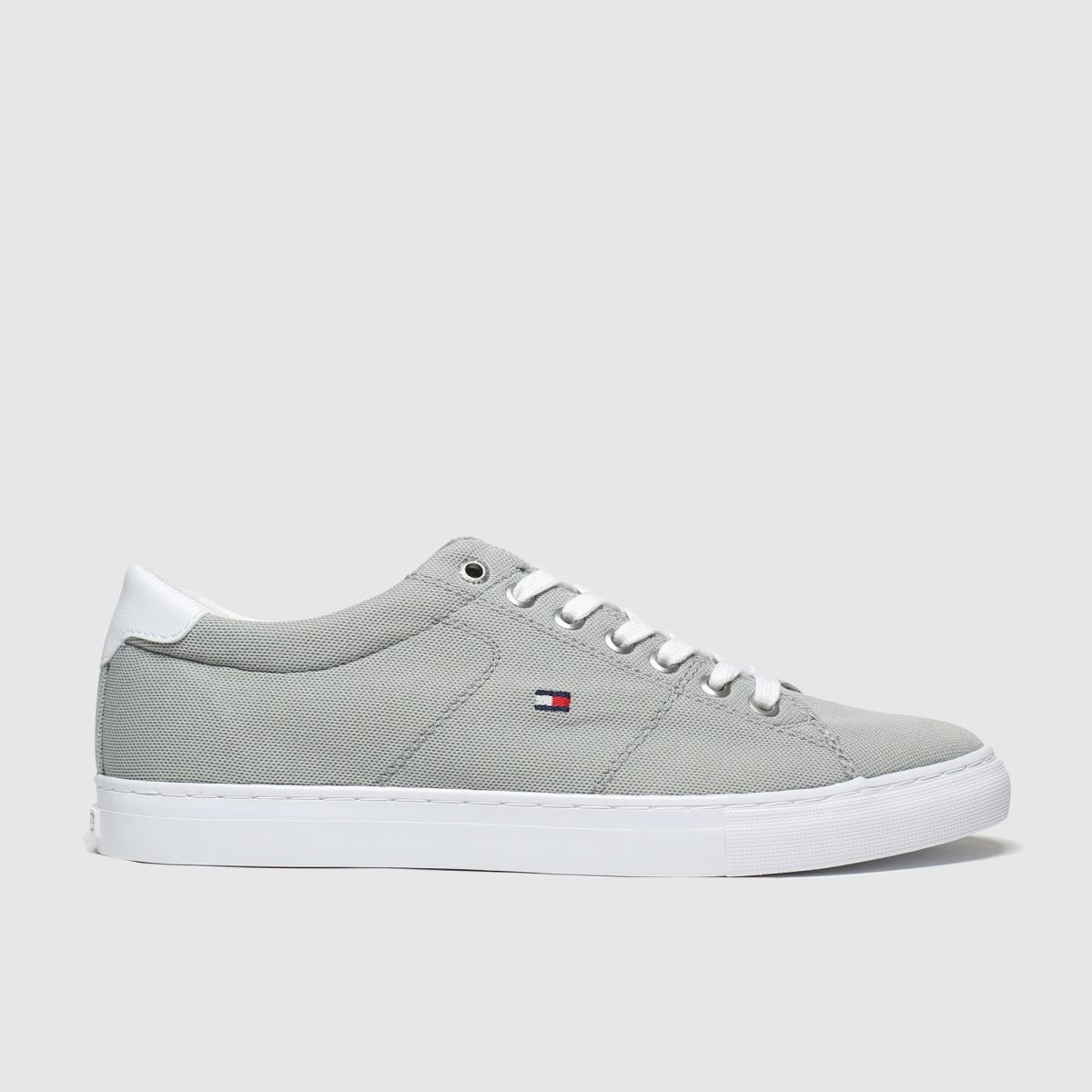 Tommy Hilfiger Grey Textile Sneaker Trainers