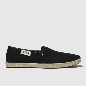 Tommy Hilfiger Black Tj Summer Mens Shoes