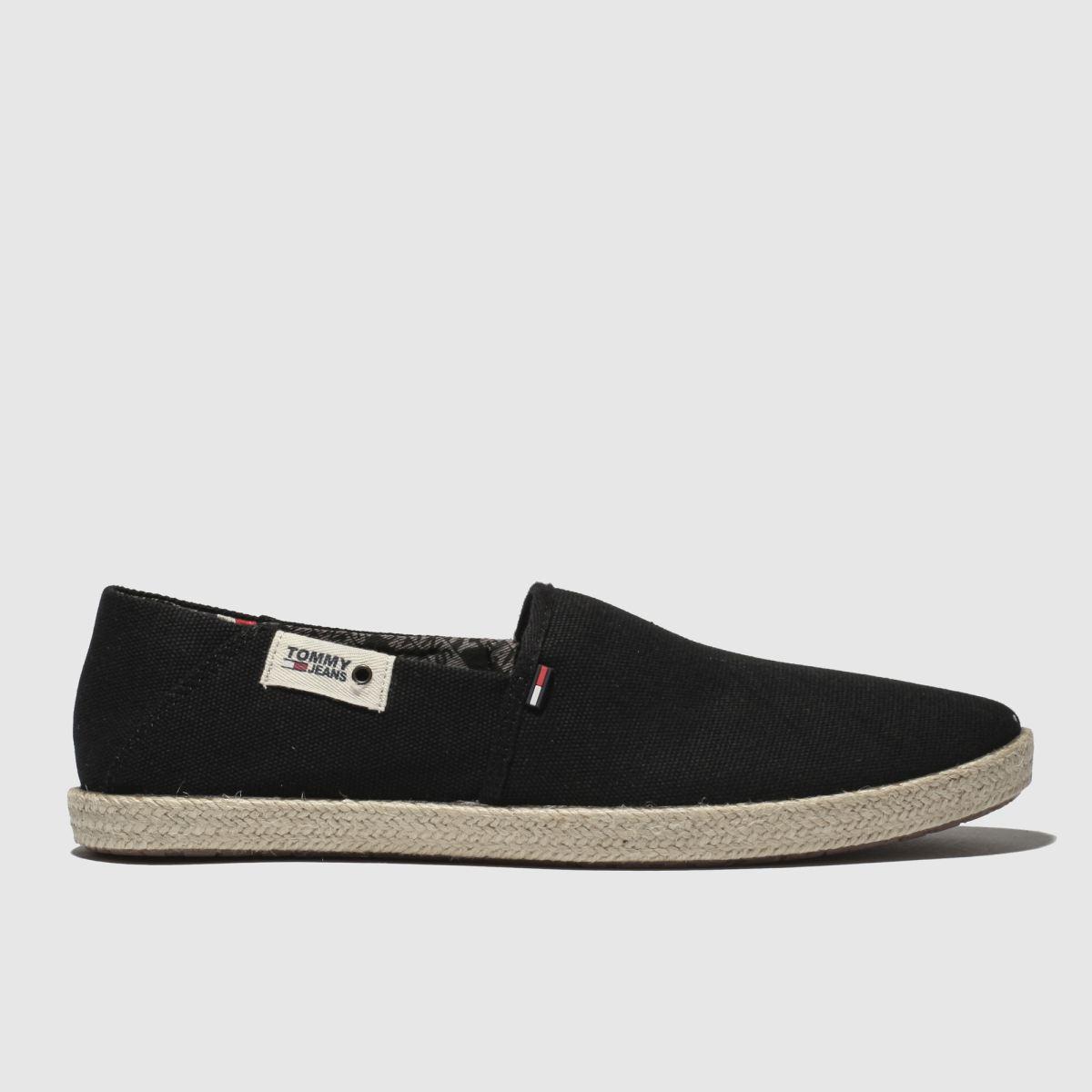 Tommy Hilfiger Black Tj Summer Shoes