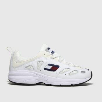 Tommy Hilfiger White Tj Retro Sneaker Mens Trainers