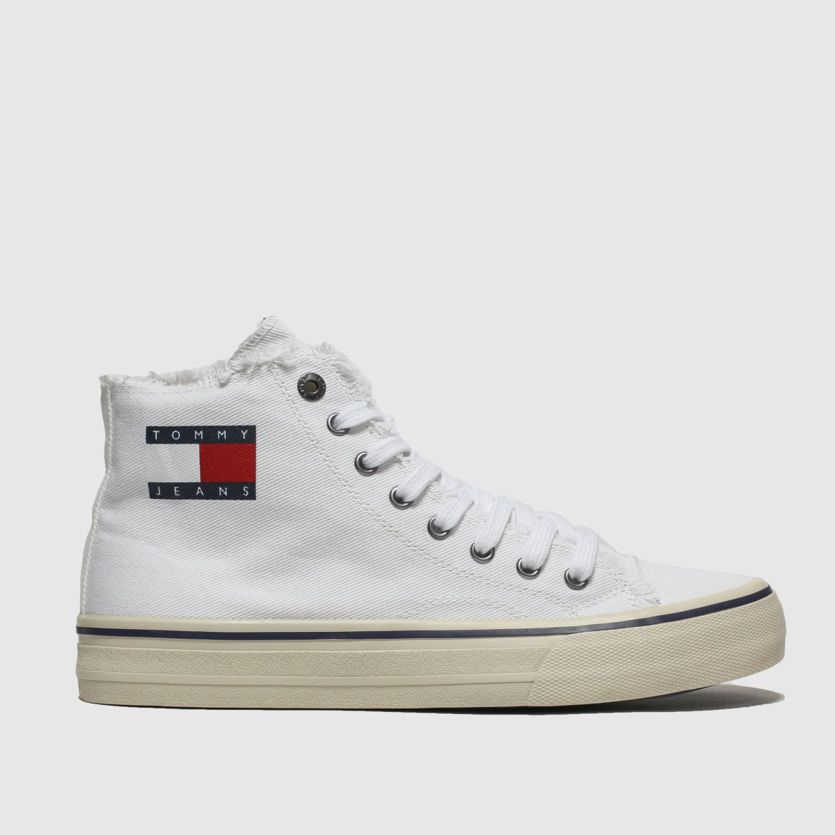 Tommy Hilfiger White Tj Hightop Sneaker Trainers