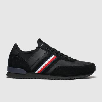 Tommy Hilfiger Black Tj Iconic Sock Runner Mens Trainers#
