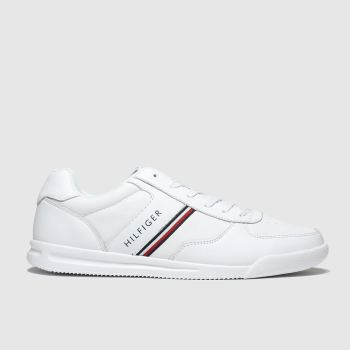 Tommy Hilfiger White Lightweight Sneaker Mens Trainers