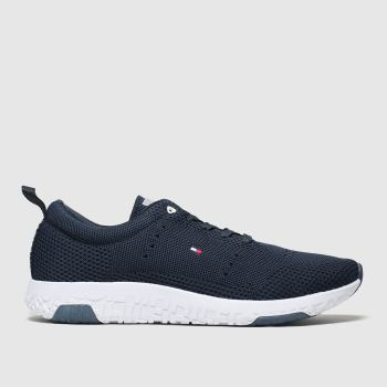 Tommy Hilfiger Navy Corporate Knit Modern Runner Mens Trainers