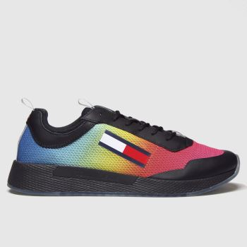 Tommy Hilfiger Multi Tj Degrade Flexi Runner Mens Trainers