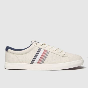 Tommy Hilfiger Stone Essential Textile Vulc Mens Trainers
