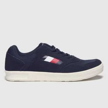 Tommy Hilfiger Navy Lightweight Mix Cupsole Mens Trainers