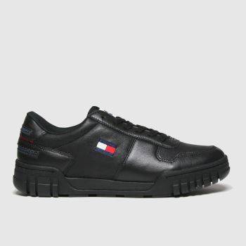 Tommy Hilfiger Black Retro Sneaker Mens Trainers