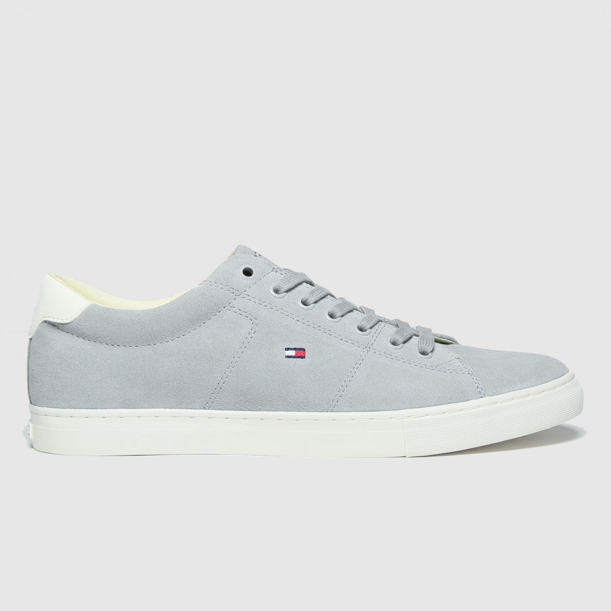 Tommy Hilfiger Grey Suede Vulc Sneaker Trainers