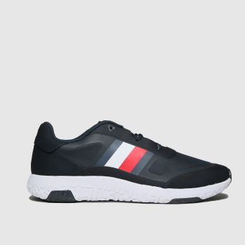 Tommy Hilfiger Navy Mix Modern Runner Mens Trainers