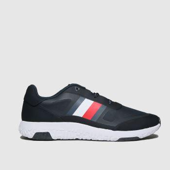 Tommy Hilfiger Marineblau Mix Modern Runner Herren Sneaker