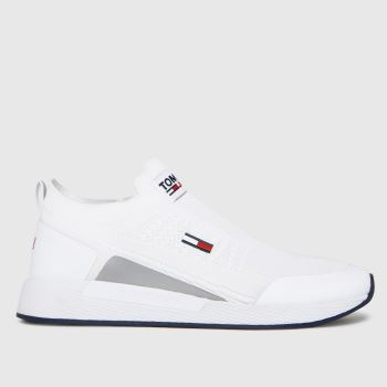 Tommy Hilfiger White Flexi Sock Runner Trainers