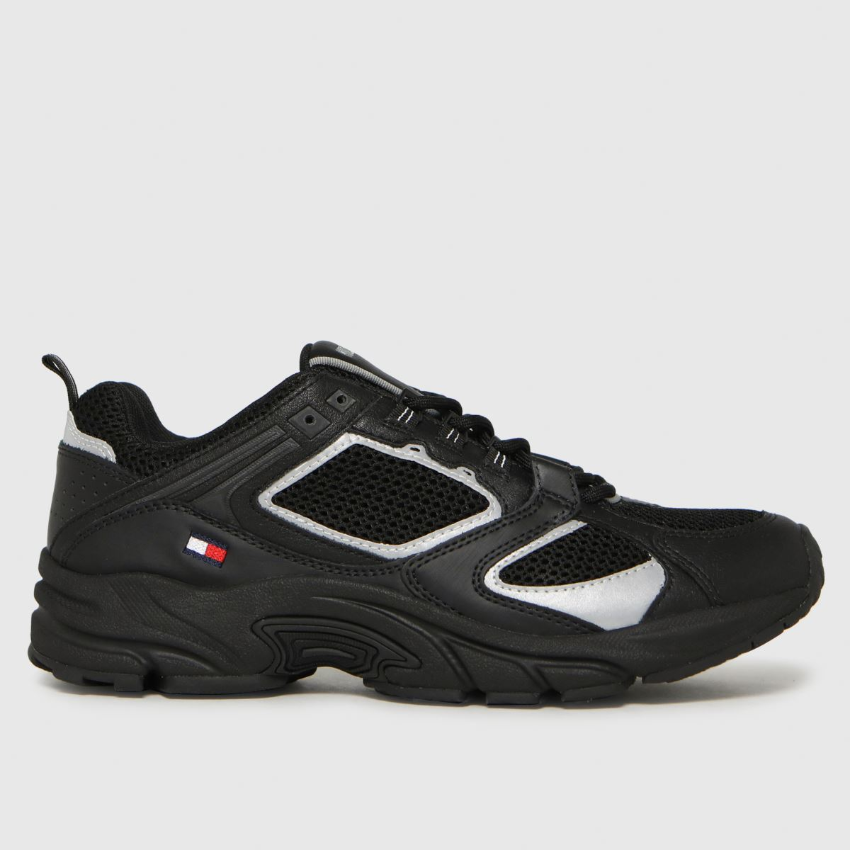 Tommy Hilfiger Black Archive Mesh Runner Trainers