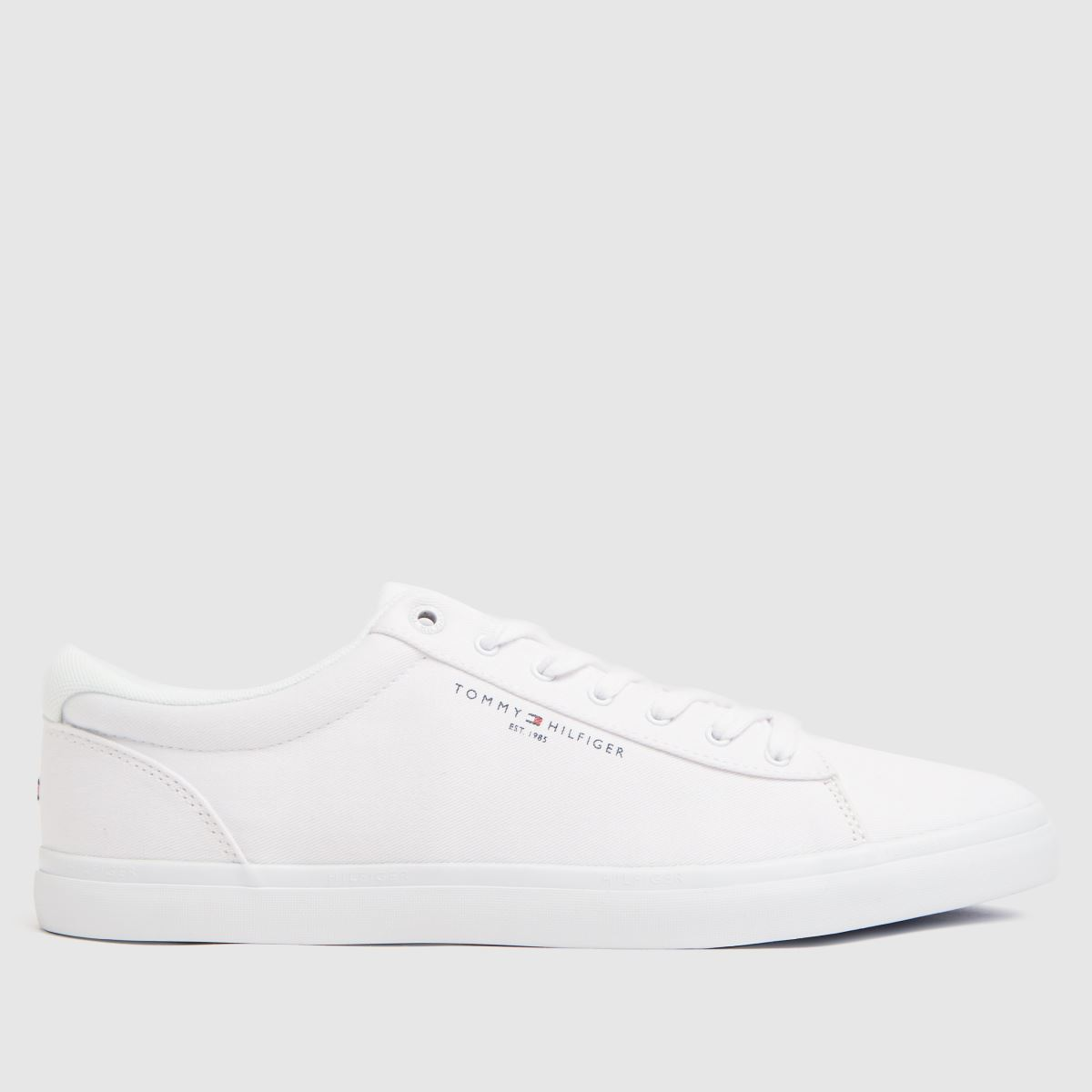 Tommy Hilfiger White Essential Stripes Trainers