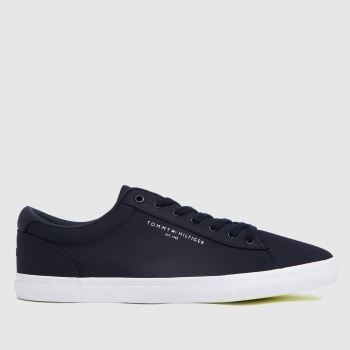 Tommy Hilfiger Navy Essential Stripes Mens Trainers