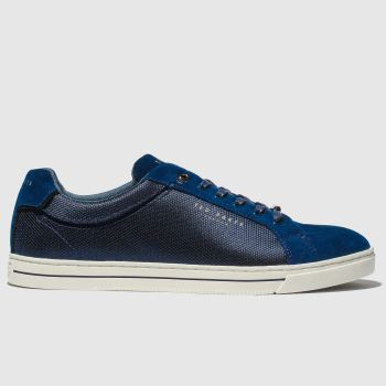 Ted Baker Navy Eeril Mens Trainers