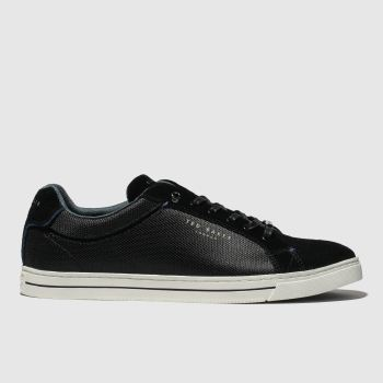 Ted Baker Black Eeril Mens Trainers
