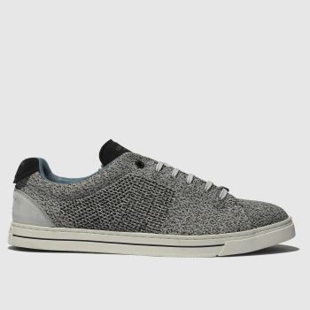 aa6212d11e54 Ted Baker Grey Plowns Mens Trainers