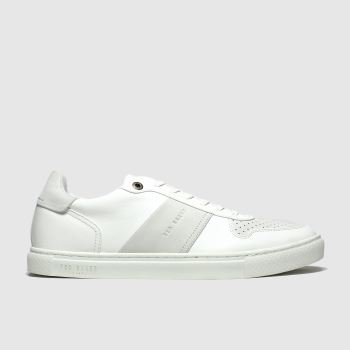 Ted Baker White Coppin c2namevalue::Mens Trainers